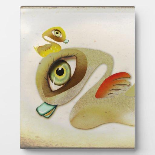 Placa del pato del bebé