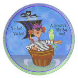 Placa del pirata platos