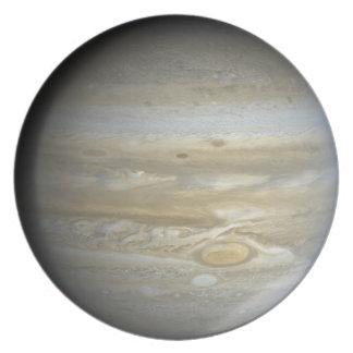Placa del planeta Júpiter Platos De Comidas