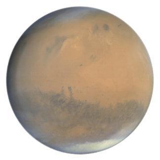 Placa del planeta: Marte Platos Para Fiestas