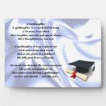 Placa del poema de la ahijada de la graduación