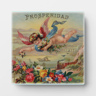 Placa del prosperidad del ángel de la prosperidad