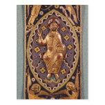 Placa del relicario que representa a Cristo Postales