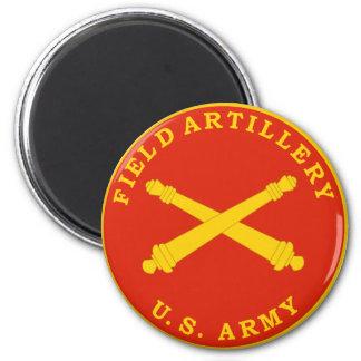 Placa del sello de la artillería de campaña imán para frigorifico