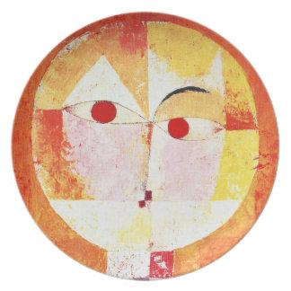 Placa del Senecio de Paul Klee Platos