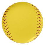 Placa del softball de Fastpitch Plato