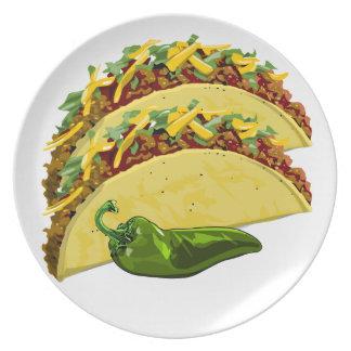 Placa del Tacos Platos