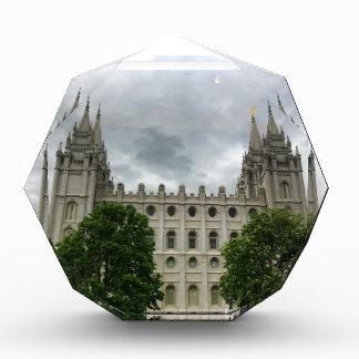 Placa del templo de Salt Lake