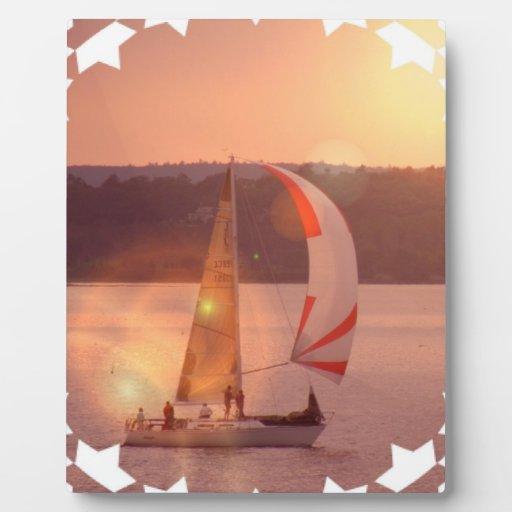 Placa del velero del Spinnaker de la navegación