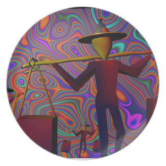 Placa diseñada por Egbune Harold Plato De Comida