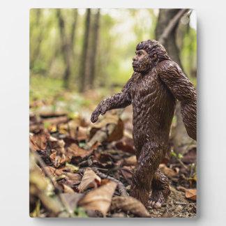Placa el | Sasquatch de la exhibición de Bigfoot