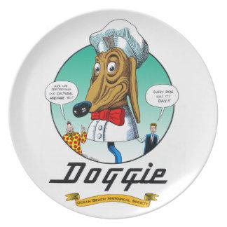 Placa enérgica #2 del perrito platos