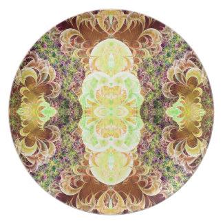 Placa enrollada de la variación 2 de la pilastra platos