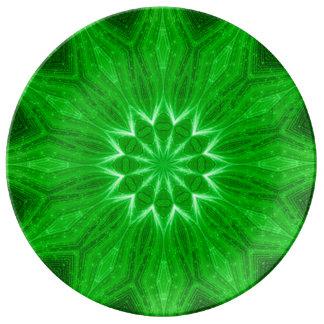 Placa espiritual del ritual de la mandala de la platos de cerámica