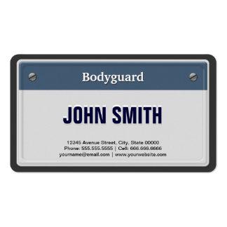 Placa fresca del coche del escolta tarjetas de negocios