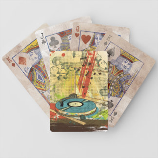 Placa giratoria apenada cartas de juego