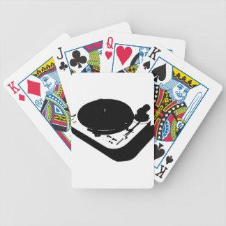 Placa giratoria baraja cartas de poker
