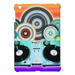 Placa giratoria de DJ con el vinilo - arte pop iPad Mini Coberturas
