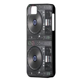 Placa giratoria de DJ iPhone 5 Carcasas