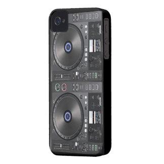 Placa giratoria de DJ iPhone 4 Case-Mate Funda