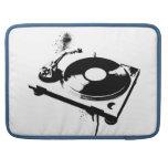 Placa giratoria de DJ Fundas Para Macbook Pro