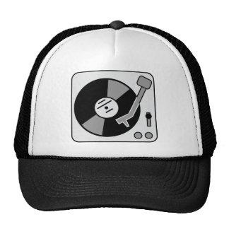 Placa giratoria de DJ Gorro