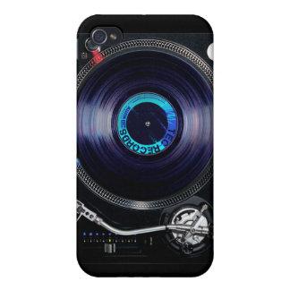 Placa giratoria de DJ iPhone 4 Carcasa