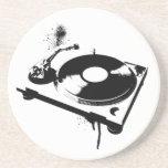 Placa giratoria de DJ Posavasos Manualidades