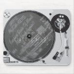 Placa giratoria de DJ Tapetes De Raton