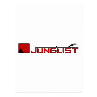 Placa giratoria de Junglist Postal