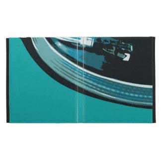 Placa giratoria de la música del vinilo