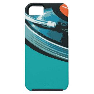 Placa giratoria de la música del vinilo iPhone 5 carcasas