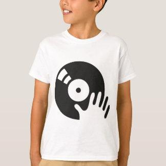 Placa giratoria del rasguño de DJ Playeras