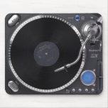 Placa giratoria Mousepad de DJ Alfombrilla De Raton