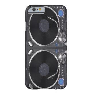 Placa giratoria VOL2 de DJ Funda De iPhone 6 Barely There