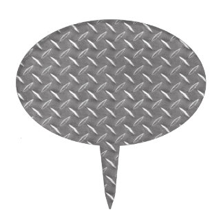 Placa gris del diamante palillos de tarta
