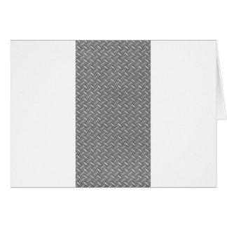 Placa gris del diamante tarjeta de felicitación