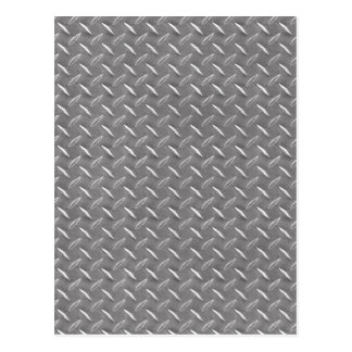 Placa gris del diamante tarjeta postal