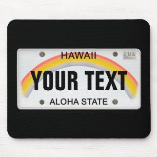 Placa hawaiana (adaptable) tapete de ratones