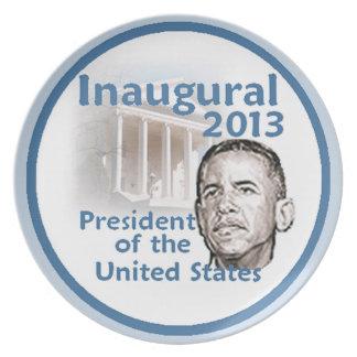 Placa inaugural 2013 platos