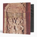 Placa india tallada