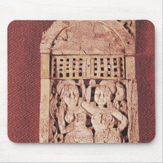 Placa india tallada alfombrillas de raton