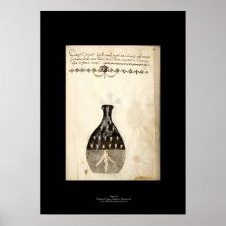 Placa italiana medieval 10 del poster de la póster
