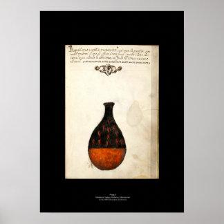 Placa italiana medieval 5 del poster de la póster