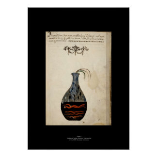 Placa italiana medieval 6 del poster de la póster