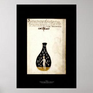 Placa italiana medieval 7 del poster de la póster