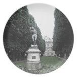 Placa - Jardin du Luxemburgo, París, Francia Platos De Comidas