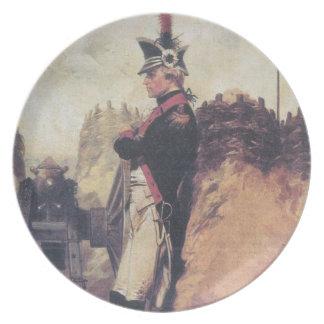 Placa joven de Alexander Hamilton Platos