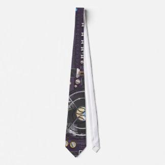 Placa madre del ordenador corbata