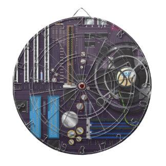 Placa madre del ordenador tablero de dardos